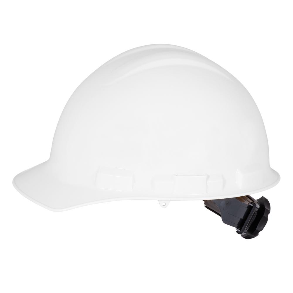 Front Brim Hard Hat White