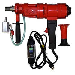 Virginia Abrasive 3 speed Core Drill w/ Stand