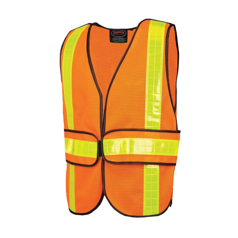 Mesh Economy Safety Vest Orange
