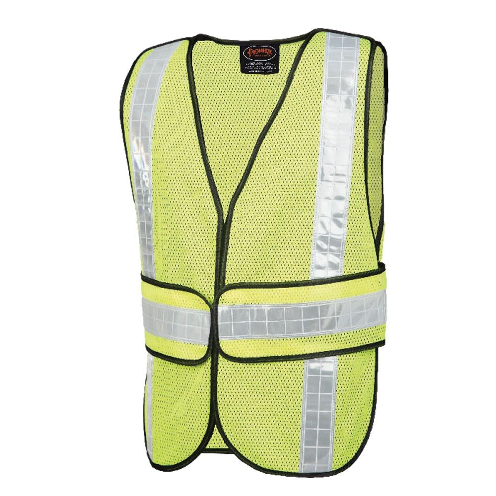 Mesh Economy Safety Vest Yellow